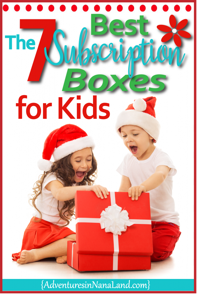Christmas Subscription Boxes for kids