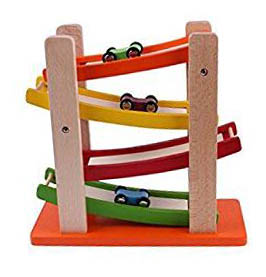 Wooden Race Car Track